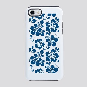 Blue Hibiscus iPhone 7 Tough Case